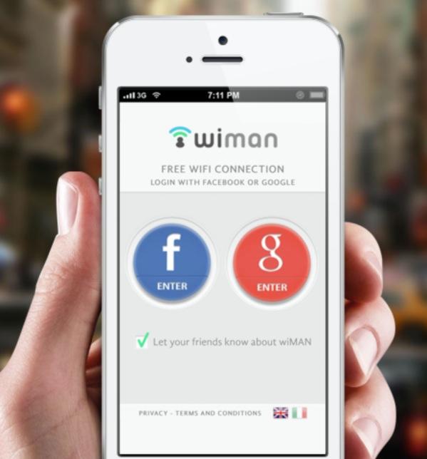 facebook free wifi